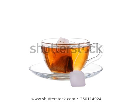 teabag isolated on white with clipping path Stock photo © mikhail_ulyannik