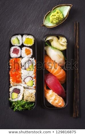 エビ サラダ 寿司 ロール 新鮮な 健康 ストックフォト © fotogal