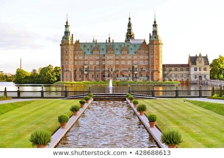Castelo Copenhague edifício estrutura fotografia Foto stock © MichaelVorobiev