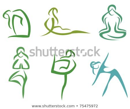 Zestaw stylizowany części ciała kobiet ciało zdrowia Zdjęcia stock © UrchenkoJulia
