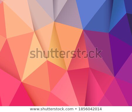 teal low poly backgrounds, vector set Stock photo © beaubelle