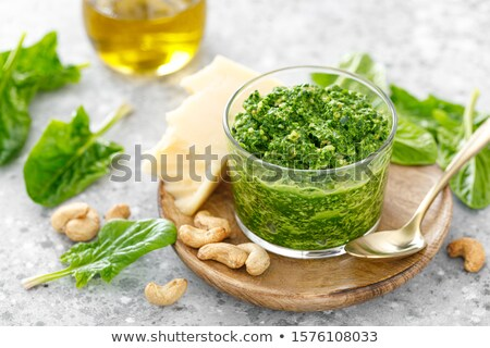 Frischen Kräuter Zubereitung von Speisen Zutaten Essen Kochen Stock foto © godfer