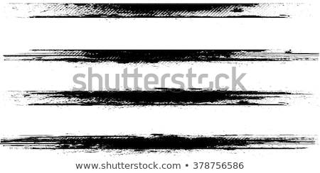 4 Sets of Grunge Stripes Stock photo © PokerMan