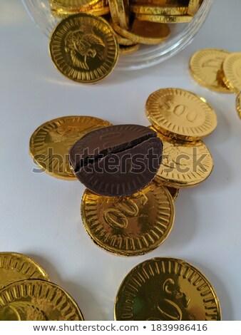 шоколадом · деньги · упаковка · белый - Сток-фото © peter_zijlstra