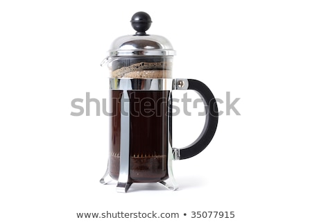 Stock photo: French press isolated