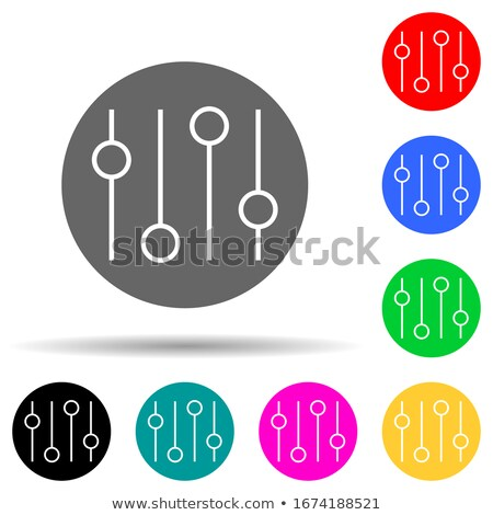 House Equipments Violet Vector Button Icon Design Set Stock photo © rizwanali3d