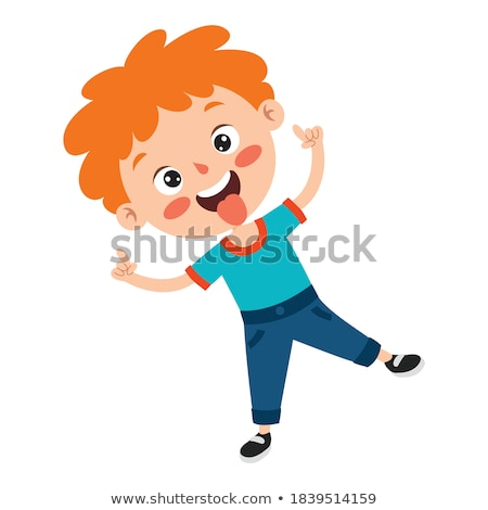 Foto stock: Riso · criança · alegre · alegria · amigável · bebê
