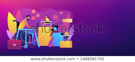 adaptation for disabled office working concept stock photo © tashatuvango
