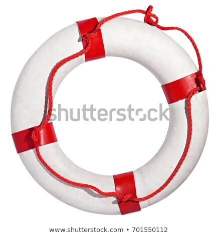 Isolé blanche sécurité océan vie danger Photo stock © shutswis