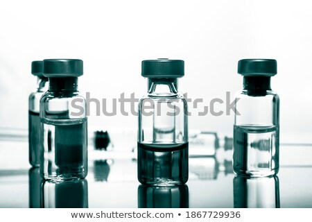 Diphtheria. Medical Concept on Green Background. Stock photo © tashatuvango