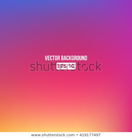 Watercolor gradient. Orange, pink and purple colors Stock photo © amok