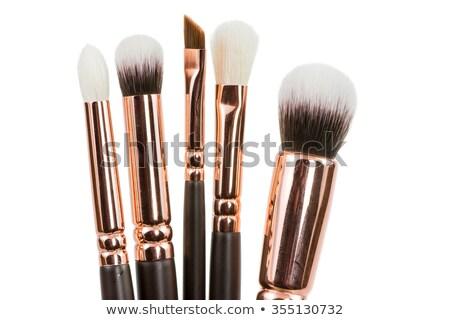 Szett smink arc bőr fehér szerszám Stock fotó © shutswis