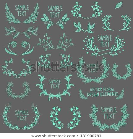 Stock photo: Heraldic Design Elements