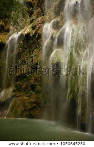 Tumalog Waterfall in Cebu Stock photo © Kacpura