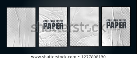 Stock photo: blank vintage booklet