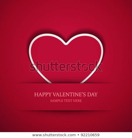 bağbozumu · kart · güller · biçim · kalp · çiçek - stok fotoğraf © beholdereye