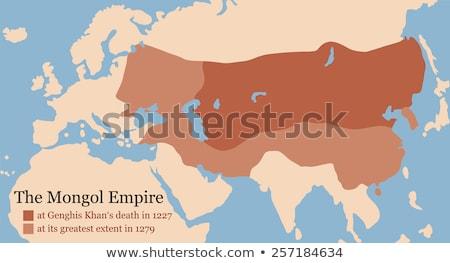 Plastic soldaten wereldbol kaart aarde oorlog Stockfoto © rmbarricarte