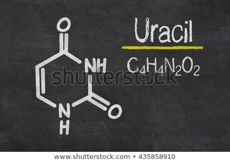 Pizarra químicos fórmula resumen signo medicina Foto stock © Zerbor