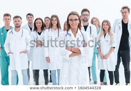 Doctor Team Choice Stock photo © Lightsource