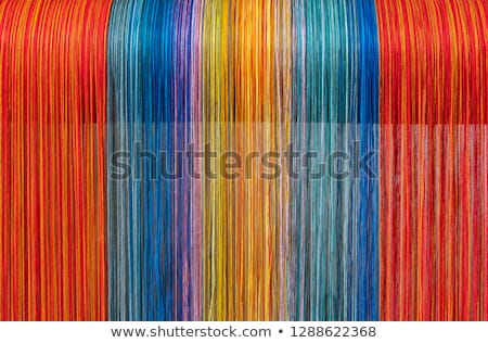 Weaving Loom and thread of yarn Stock photo © jordanrusev