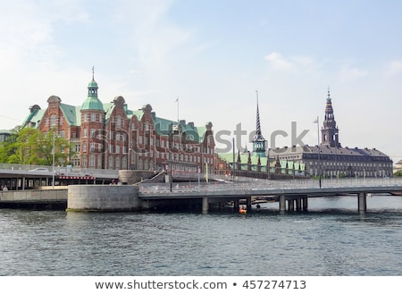 waterside scenery in Copenhagen Stock photo © prill