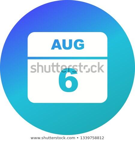 6th august stock photo © oakozhan