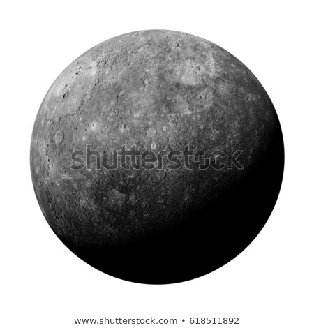 A grey planet Stock photo © bluering