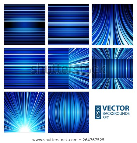 Vibrant color blur stripes abstract. Stock photo © latent