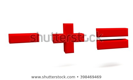 Minus sign. 3D Stock photo © djmilic