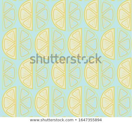 Seamless background design with yellow splash Stock photo © bluering
