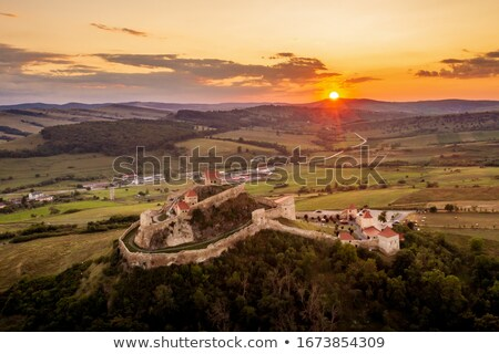 Rupea citadel, Romania Stock photo © joyr