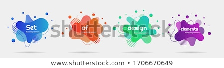 abstract waves with globe vector design eps 10 stock photo © fresh_5265954