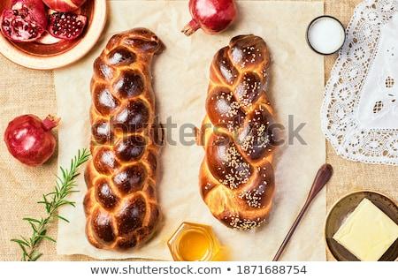 хлеб меда таблице события фотографии свежесть Сток-фото © user_11224430