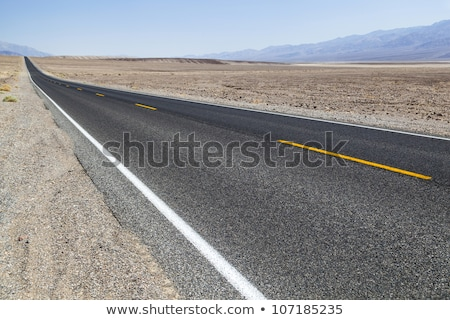 landscape over death valley with street stock photo © meinzahn