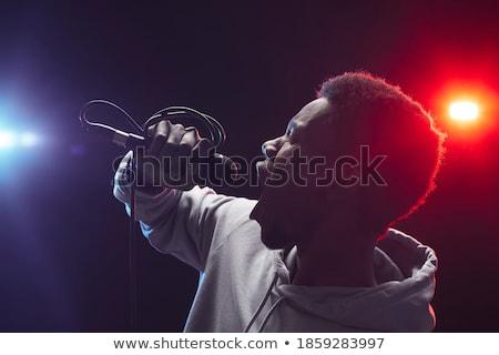 Retrato músicos em pé etapa boate juntos Foto stock © wavebreak_media