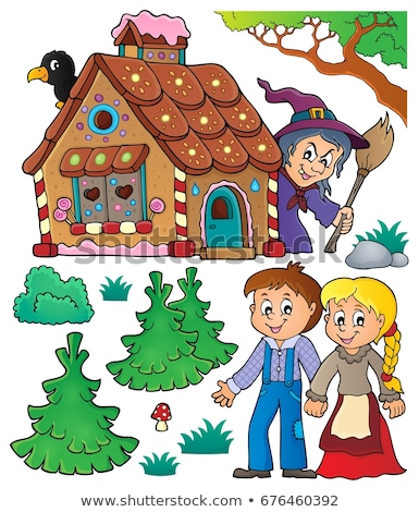 hansel and gretel theme set 1 stock photo © clairev