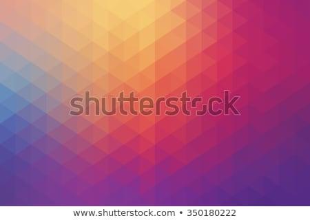 kobalt · Blauw · abstract · laag · veelhoek · stijl - stockfoto © tasipas