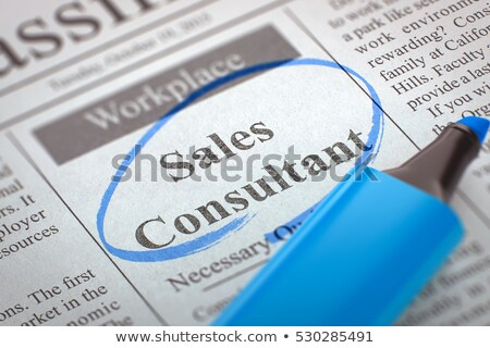 Marketing Consultant Job Vacancy. 3D Render. Stock photo © tashatuvango