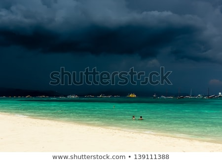 Just off the coast of Boracay in the Philippines Stock photo © chrisukphoto