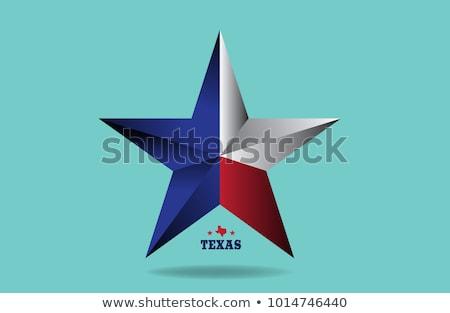 Texas csillag nagy fém használt Stock fotó © BrandonSeidel