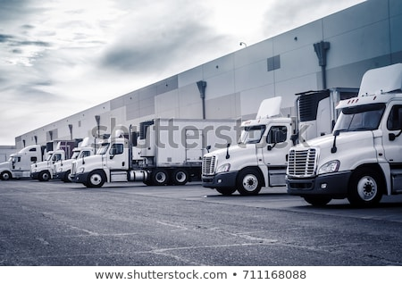 Stock photo: Truck Loading Dock