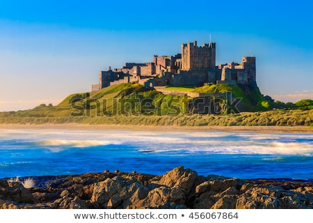 Stock photo: Bamburgh castle