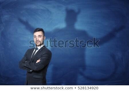 Devil Tail Business Man Stock photo © Krisdog
