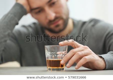 Alcohol And Depression Stock photo © Lightsource