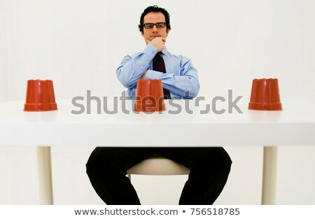 Man ponders location of hidden item Stock photo © IS2