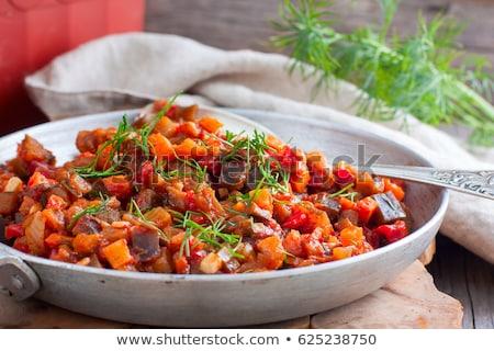 ratatouille, mixed stew vegetable Stock photo © M-studio