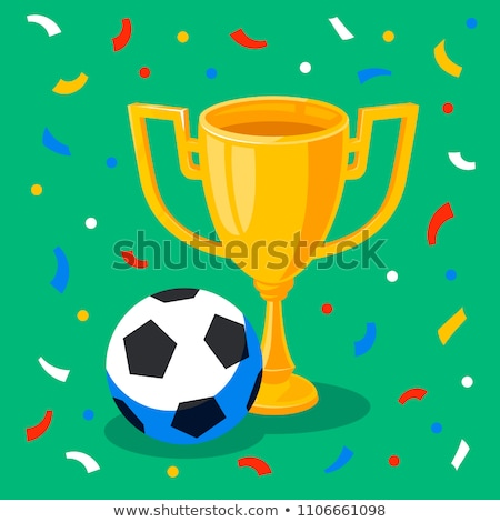 Russia soccer match event gold award background Stock photo © cienpies