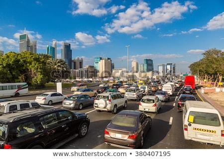 autostrady · korku · słoneczny · dekoracje · autostrady · Niemcy - zdjęcia stock © dashapetrenko