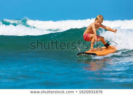 surf · diseno · verano · viaje · mar · vacaciones - foto stock © robuart