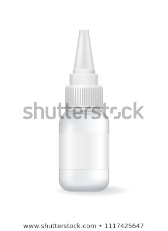 Empty Small Container with Dispenser for Eye Drops Stock photo © robuart